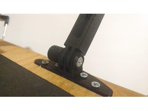 headphone holder- stand- PC, compatible with gopro V2
