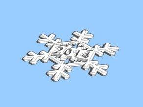 snowflake remix for 2014 / 15