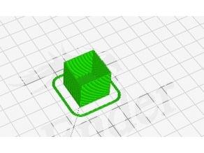 Cube calibration à spiraliser