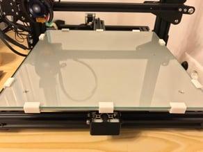 Creality CR-10 Glass Clip