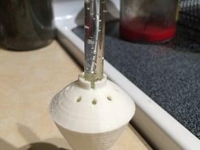 Repairable Bubble light base