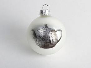 Utah Teapot Ornament