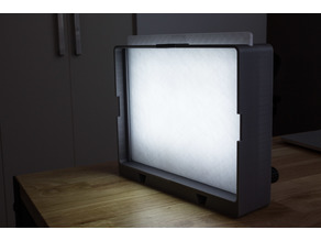 Dimmable LED softbox