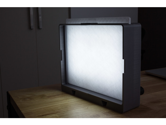 Dimmable LED softbox by thenickdude - Thingiverse