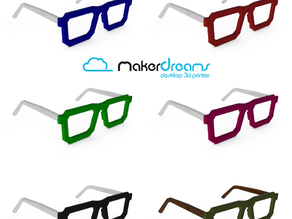 NERD Glasses design by MakerDreams