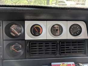 Volvo 240 Triple Gauge Pod