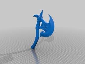 Lizardman's Axe and Shield