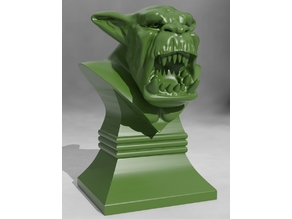 Savage Orc Bust