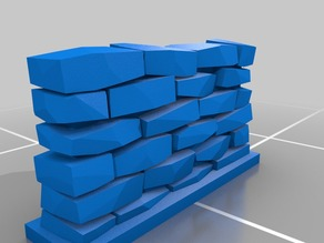 Remix of Customizable Stone Wall