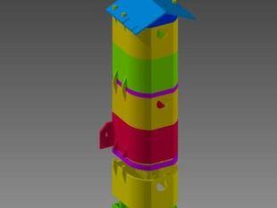 modular birdhouse apartment flat