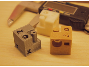 Filament Test Cube
