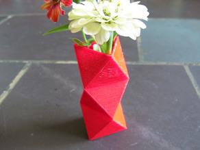 Faceted Vase 3