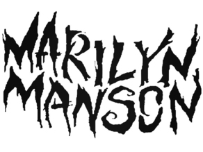 Marilyn Manson Spooky kids stencil