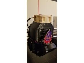 Prusa i3 MK3 Extruder Stepper Cooler Rework