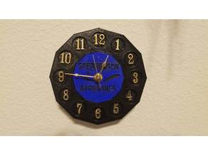 Customizable Analog Wall clock