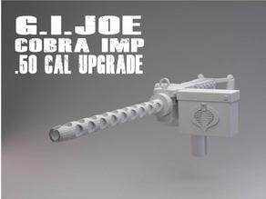 GI JOE Cobra IMP .50 Cal