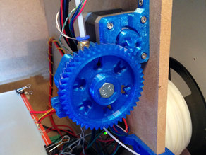 NEMA17 & Bowden geared extruder for the SmartrapCore, V 0.95b
