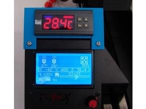 Formbot T-Rex  Keenovo controller mount