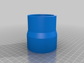 My Customized Parametric Dust Collector Adapter for Bosch GTS 10