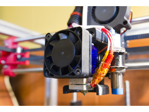 E3D 40mm Fan Adaptor Extended