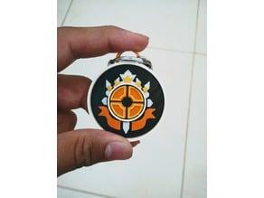 TF2 Logo Keychain