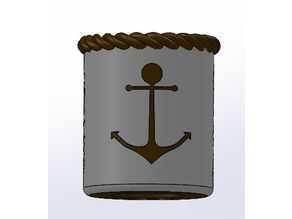 Anchor Koozie