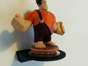Disney Infinity Character Shelf using Command Strips