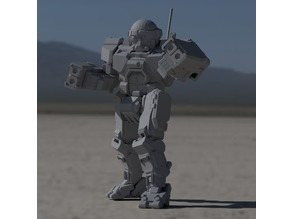 "COM-TDK ""The Death's Knell"" for Battletech"