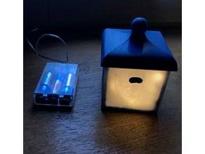 Lampe litophanie