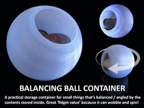 Balancing Ball Container