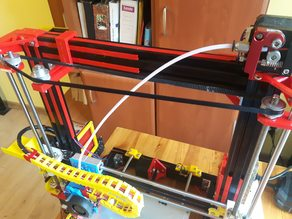 Anet AM8 Z axis system with one engine,