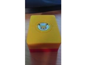 Magnetically Sealed Pokemon TCG Deck Box