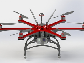 Hexacopter (HC-FIRESTORM) By. JAROLIX