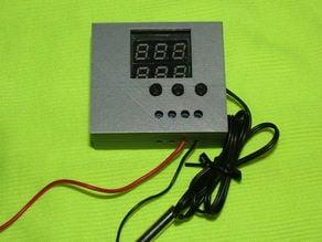 Dual LED Display Thermostat box