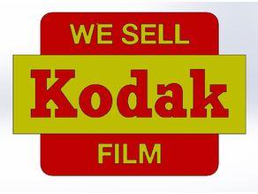 Kodak Sign - Analog Photography