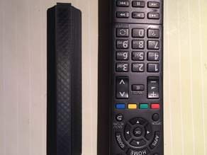 Panasonic remote control battery cover
