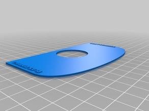 Pinball button guard / Cabinet Wear Pad