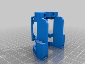 Monoprice Mini Delta E3d Clone mount