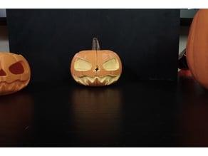 2x2 Spooky Jack-o-lantern