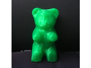 Low Poly Gummy Bear