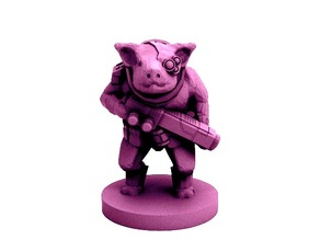 Pigman Commando (18mm scale)