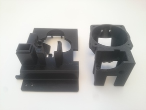 Diamond Hotend mount for Witbox