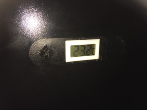 FlashForge Creator Pro Thermometer