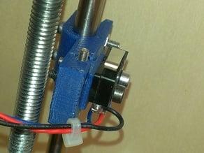 adjustable mechanical endstop z for prusa mendel i2
