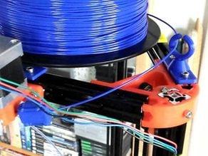 Q&D 2020 frame filament guide
