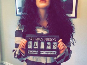 Harry Potter Prison of Azkaban Sign