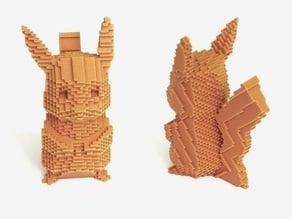 Voxel Pikachu