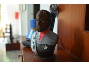 Son of Mogh, Klingon Starship Commander.