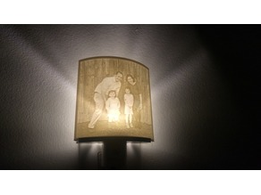 Lithophane Nightlight