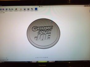 logo group action joe style presse papier